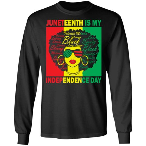 Juneteenth is my independence day shirt $19.95 redirect05262021010504