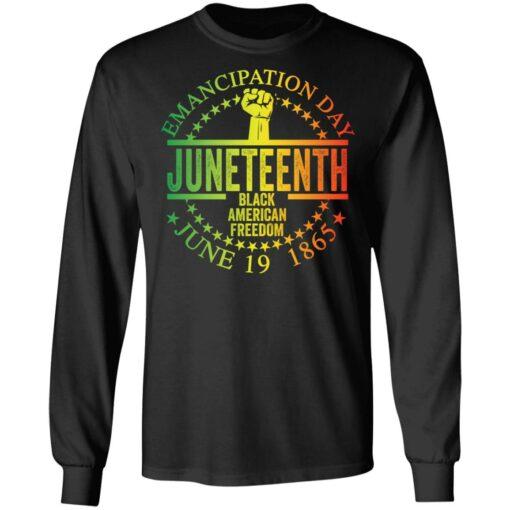 Emancipation day juneteenth black American freedom june 19th shirt $19.95 redirect05262021050537 4