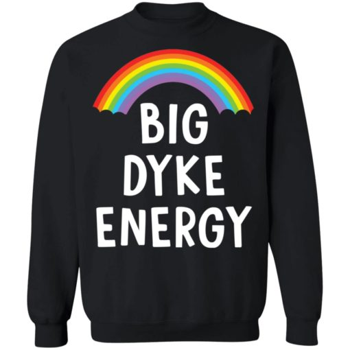 Rainbow big dyke energy shirt $19.95 redirect05262021230540 8