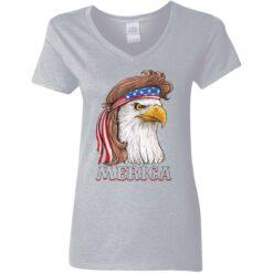 Eagle Mullet 4th of july flag shirt $19.95 redirect05272021020505 3