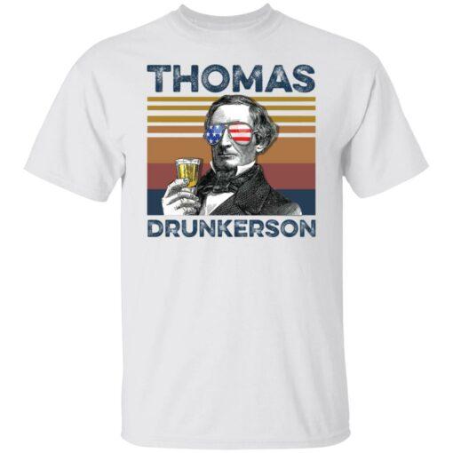 Thomas Jefferson Thomas drunkerson shirt $19.95 redirect05272021040533