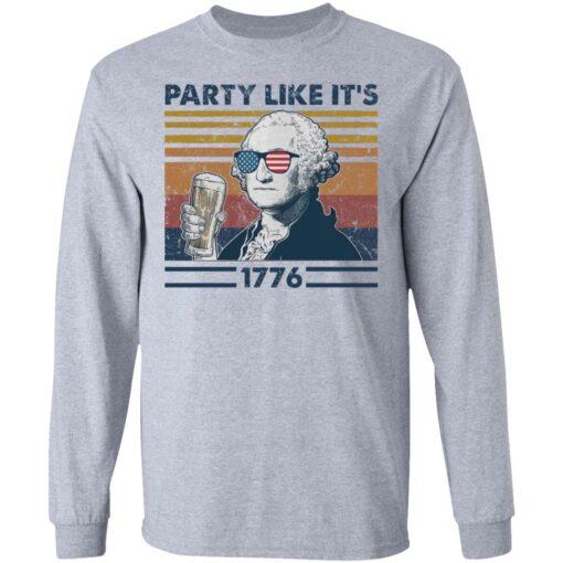 George Washington party like it's 1776 shirt $19.95 redirect05272021050521 4