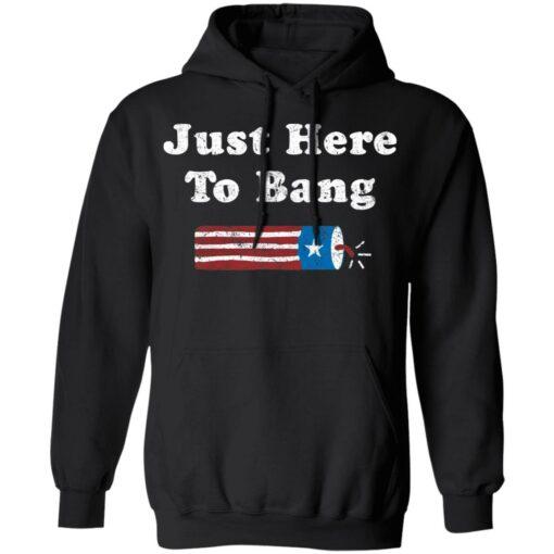 Just here to bang shirt $19.95 redirect05272021210533 7