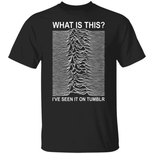 What is this i've seen it on tumblr shirt $19.95 redirect05272021220533