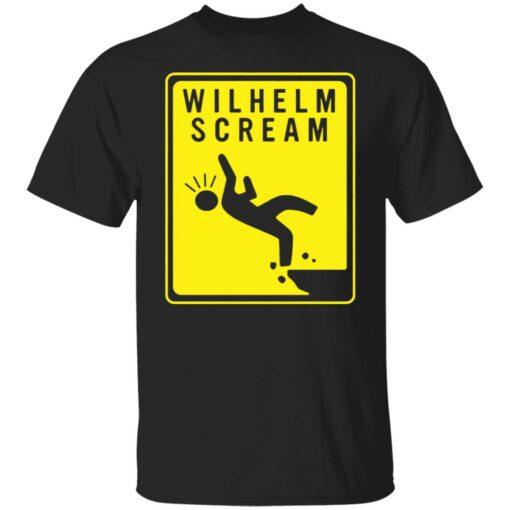 Wilhelm scream shirt $19.95 redirect05272021230522
