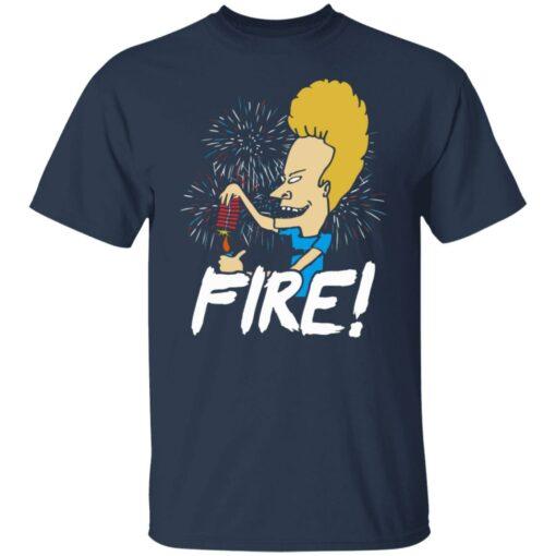 4th of July Beavis fire firework shirt $19.95 redirect05292021230526 1