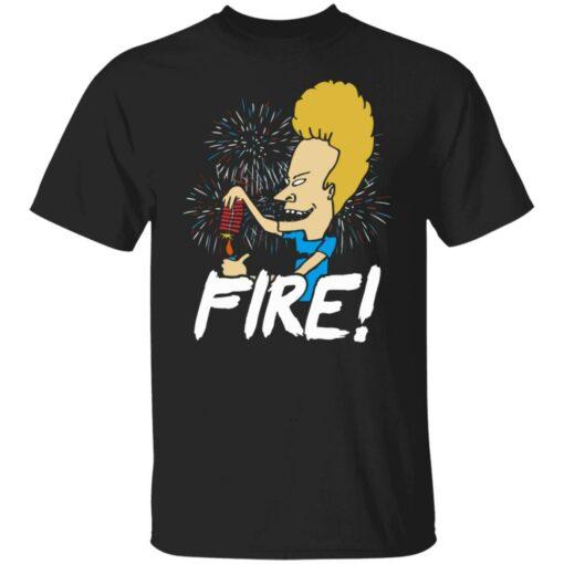 4th of July Beavis fire firework shirt $19.95 redirect05292021230526