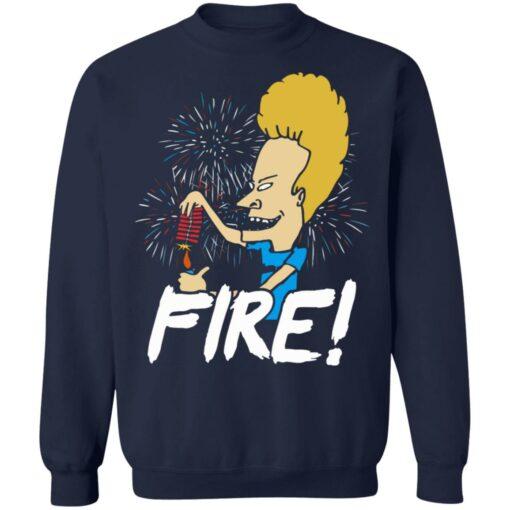 4th of July Beavis fire firework shirt $19.95 redirect05292021230526 9