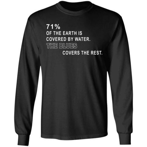 71% of the earth is covered by water the blues covers the rest shirt $19.95 redirect05312021230550 4