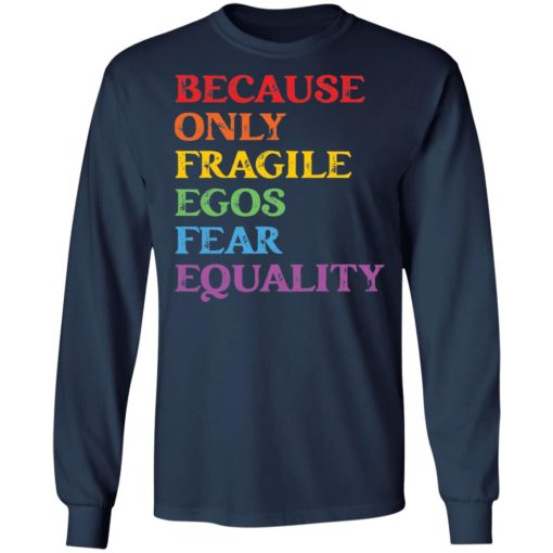 Because only fragile egos fear equality shirt $19.95 redirect05312021230553 5