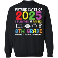 Future class of 2025 i survived and passed 8th grade shirt $19.95 redirect06012021040602 8