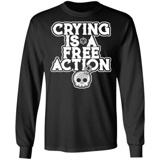 Crying is a free action shirt $24.95 redirect06162021230619 2