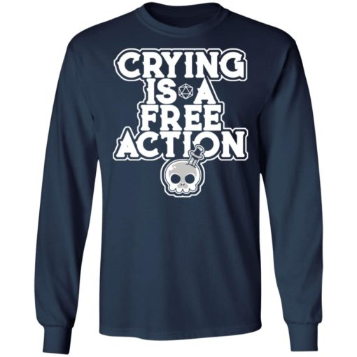 Crying is a free action shirt $24.95 redirect06162021230619 3