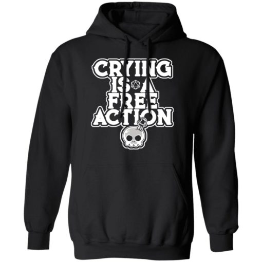 Crying is a free action shirt $24.95 redirect06162021230619 4