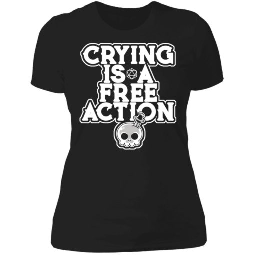 Crying is a free action shirt $24.95 redirect06162021230620 1