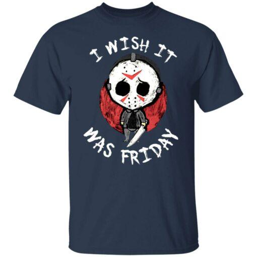 Jason Voorhees i wish it was friday shirt $19.95 redirect06212021000605