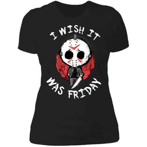 Jason Voorhees i wish it was friday shirt $19.95 redirect06212021000605 7