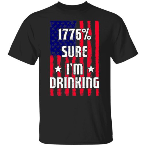 1776% sure i'm drinking shirt $19.95 redirect06212021030619