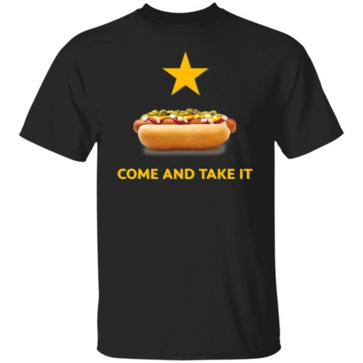 Hot dog come and take it shirt $19.95 redirect06222021040610