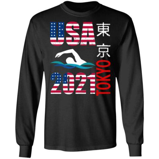 Tokyo 2021 swimming American US flag shirt $19.95 redirect06222021040646 2