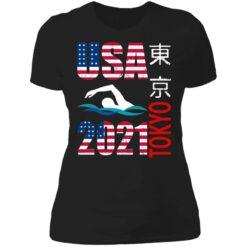 Tokyo 2021 swimming American US flag shirt $19.95 redirect06222021040646 8