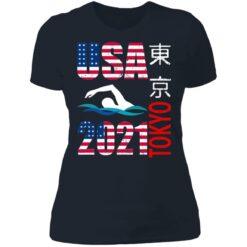 Tokyo 2021 swimming American US flag shirt $19.95 redirect06222021040646 9