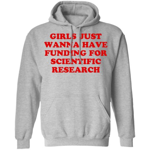 Girls just wanna have funding for scientific research shirt $19.95 redirect06222021230635 4