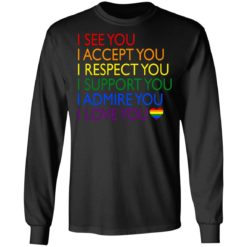 Pride LGBT i see you i accept you i respect you shirt $19.95 redirect06232021040617 2