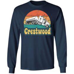 Crestwood tourism semi stuck on railroad tracks shirt $19.95 redirect06242021020617 3
