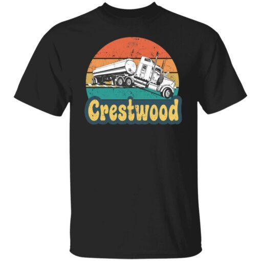Crestwood tourism semi stuck on railroad tracks shirt $19.95 redirect06242021020617