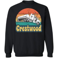 Crestwood tourism semi stuck on railroad tracks shirt $19.95 redirect06242021020617 6