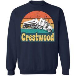 Crestwood tourism semi stuck on railroad tracks shirt $19.95 redirect06242021020617 7