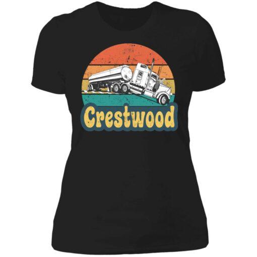 Crestwood tourism semi stuck on railroad tracks shirt $19.95 redirect06242021020617 8