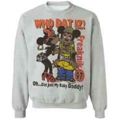 Who dat IZ oh dat just my baby Daddy shirt $19.95 redirect06252021220658 6