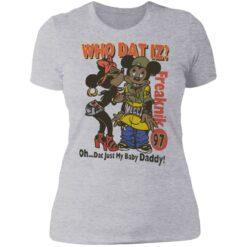 Who dat IZ oh dat just my baby Daddy shirt $19.95 redirect06252021220658 8