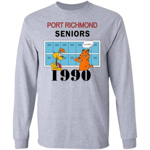 Garfield Port Richmond seniors 1990 shirt $19.95 redirect06262021230618 2
