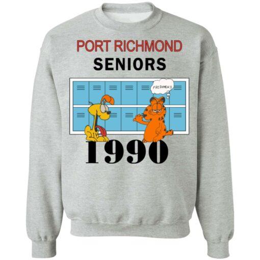 Garfield Port Richmond seniors 1990 shirt $19.95 redirect06262021230618 6
