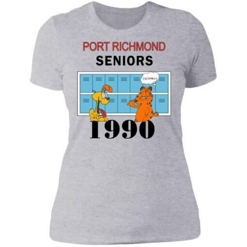 Garfield Port Richmond seniors 1990 shirt $19.95 redirect06262021230618 8