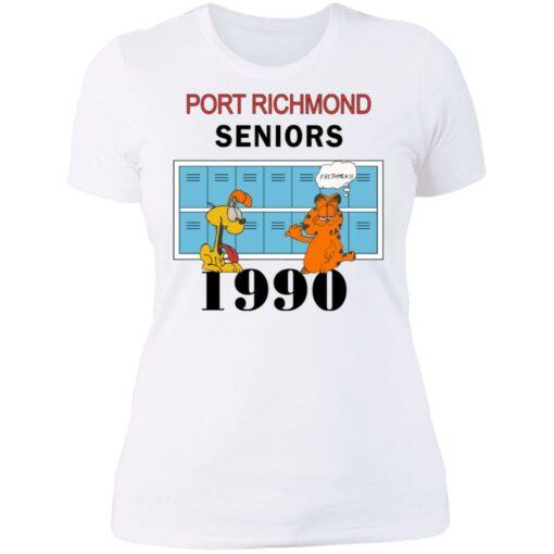 Garfield Port Richmond seniors 1990 shirt $19.95 redirect06262021230618 9