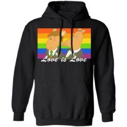 Nigel Ratburn wedding love is love shirt $19.95 redirect06272021000601 4