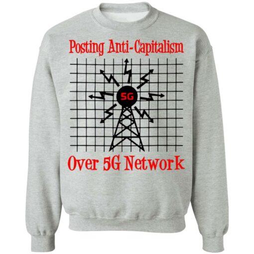 Posting anti capitalism over 5g network shirt $19.95 redirect06282021030639 6