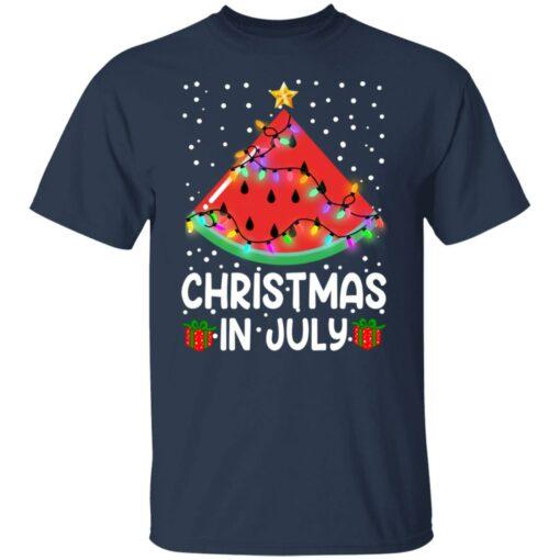 Watermelon Christmas in July sweatshirt $19.95 redirect06282021040658 1
