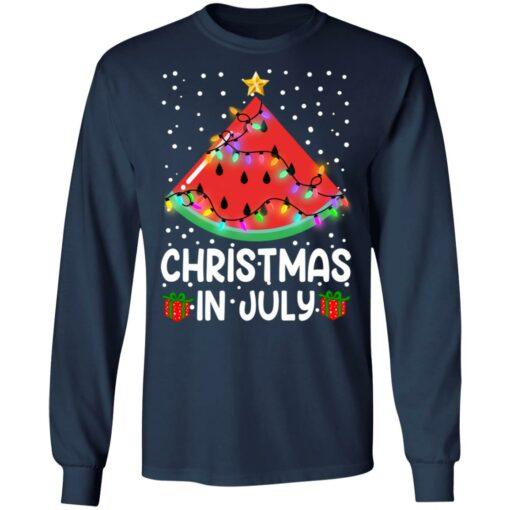 Watermelon Christmas in July sweatshirt $19.95 redirect06282021040658 3