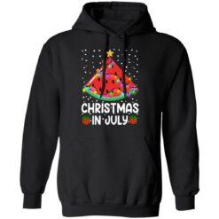 Watermelon Christmas in July sweatshirt $19.95 redirect06282021040658 4