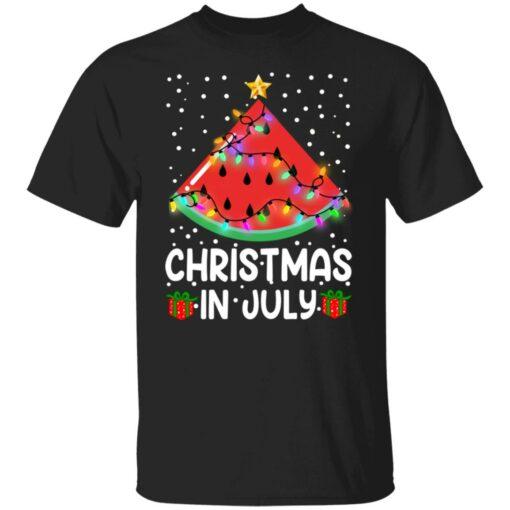 Watermelon Christmas in July sweatshirt $19.95 redirect06282021040658