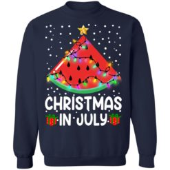 Watermelon Christmas in July sweatshirt $19.95 redirect06282021040658 7