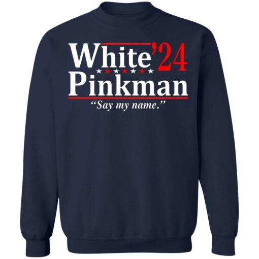 White Pinkman 2024 say my name shirt $19.95 redirect06292021050645 7