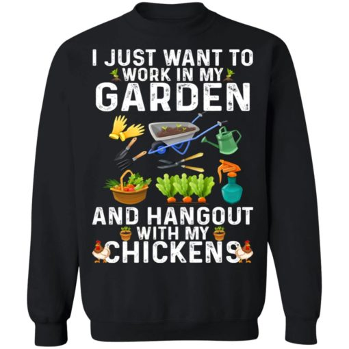 I just want to work in my garden shirt $19.95 redirect06302021030614 6