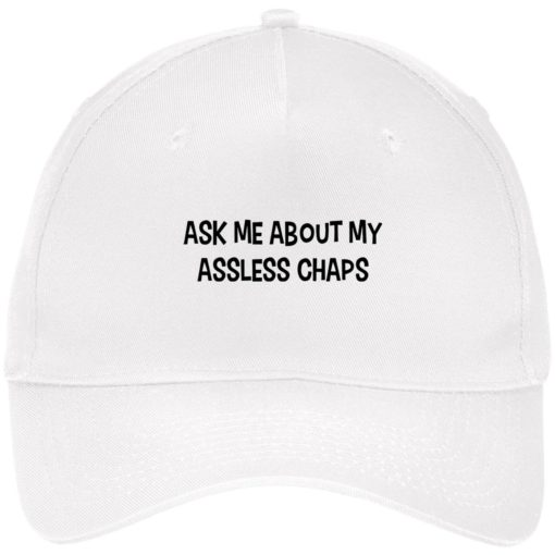 Ask me about my assless chaps hat, cap $24.75 redirect06302021030636