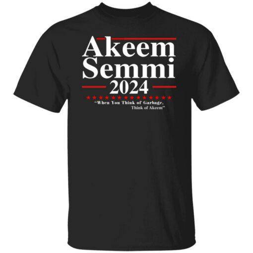 Akeem Semmi 2024 when you think of garbage shirt $19.95 redirect06302021060619
